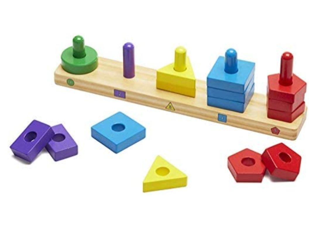 Juguete Montessori para bebés (envío gratis con Prime)