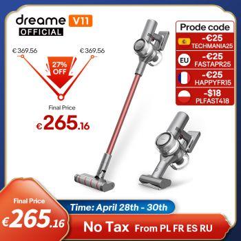 Dreame-Aspirador inalámbrico portátil V11