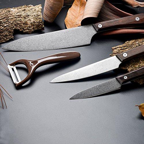 4 Cuchillos de Cocina + pelador