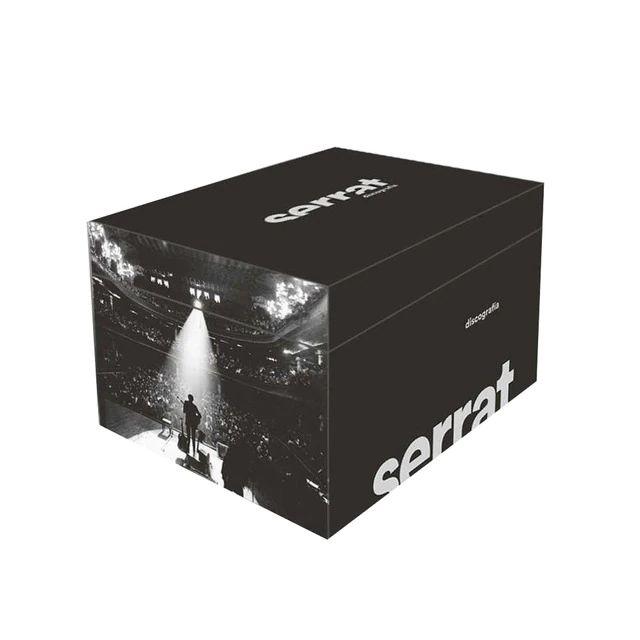 Box set Serrat (Discografía en castellano 20 CDs)