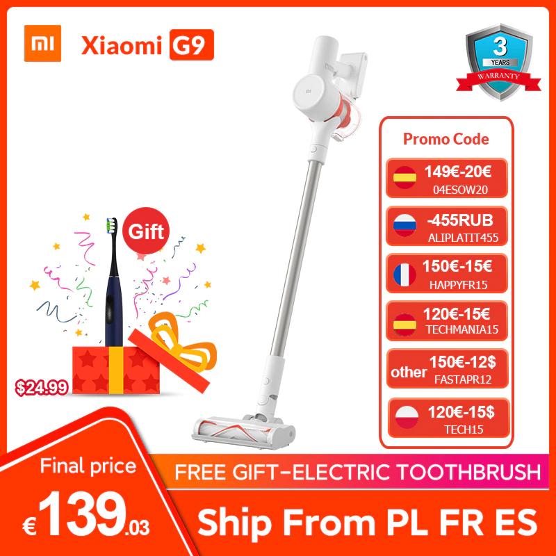 Xiaomi G9 Aspiradora inalámbrica - Desde España (+ Regalo cepillo de dientes Oclean F1)