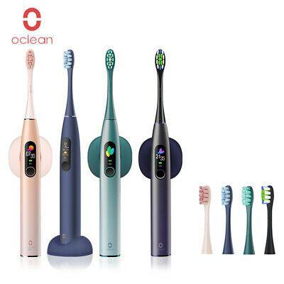 Oclean XPro Cepillo dientes eléctrico pantalla táctil + cabezal cepillo 2PCS