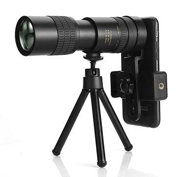 IPRee Telescopio para el móvil zoom 10-300x40