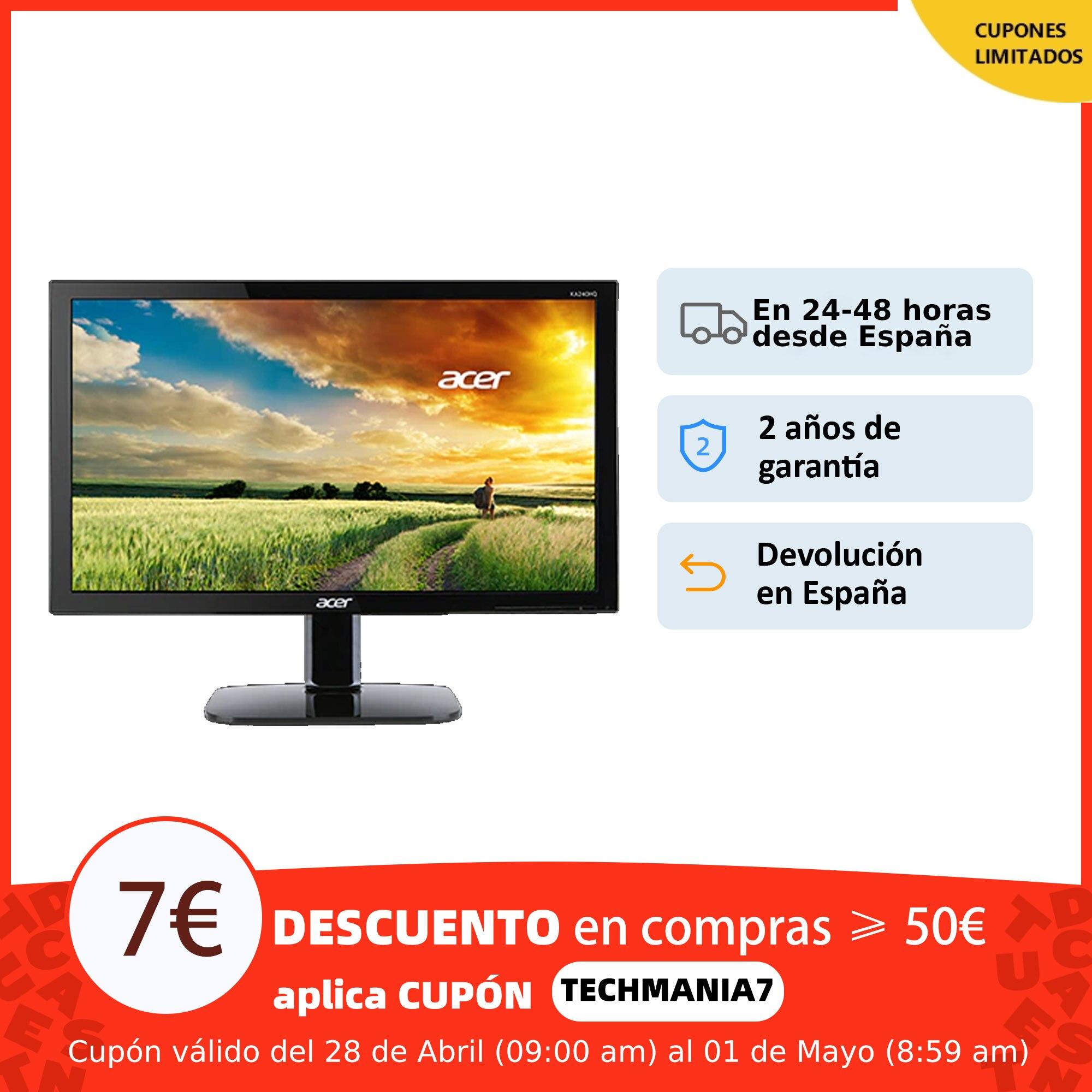 "Monitor Acer Led TN 21,5"" 5 ms Full HD 60Hz VESA"