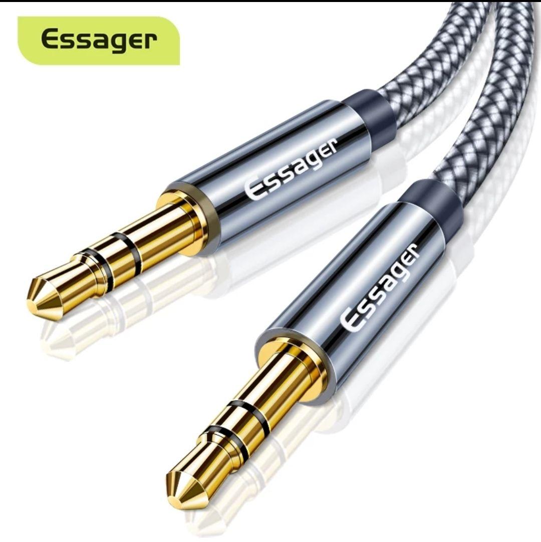 Cable audio 3.5 a 3.5 de 1.2m