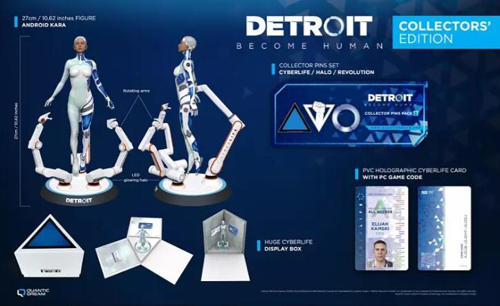 Detroit: Become Human Edición Coleccionista