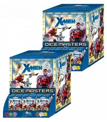 Pack 2 X Dice Masters: X-men Uncanny - Display De 90 Sobres (Castellano)