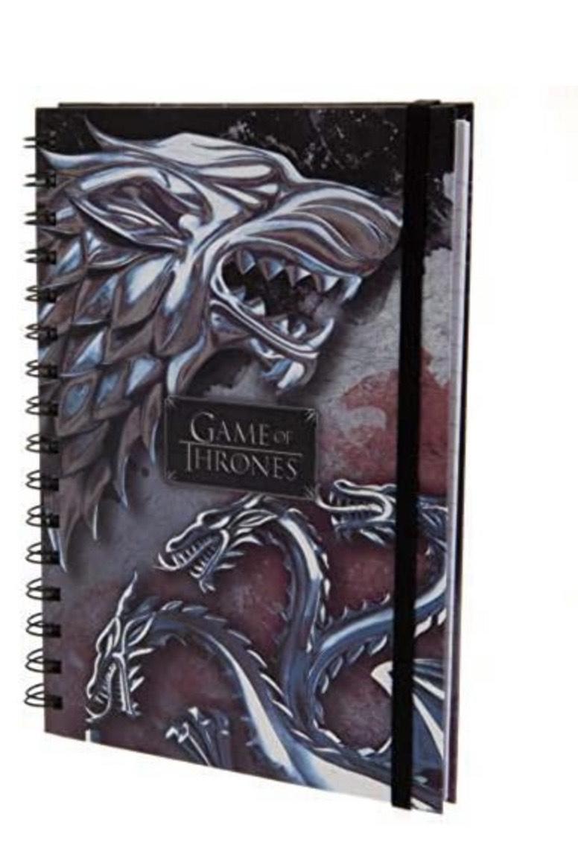 """Juego de Tronos Libreta A5""""Stark and Targaryen"""""""