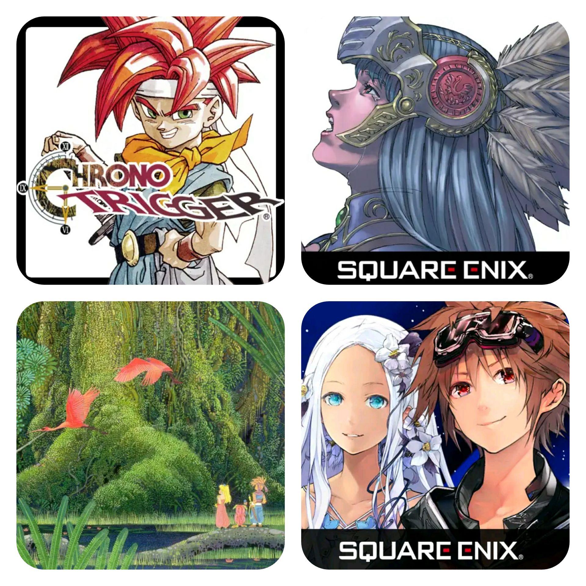 4 apps de Square Enix al 50% DTO [Android]
