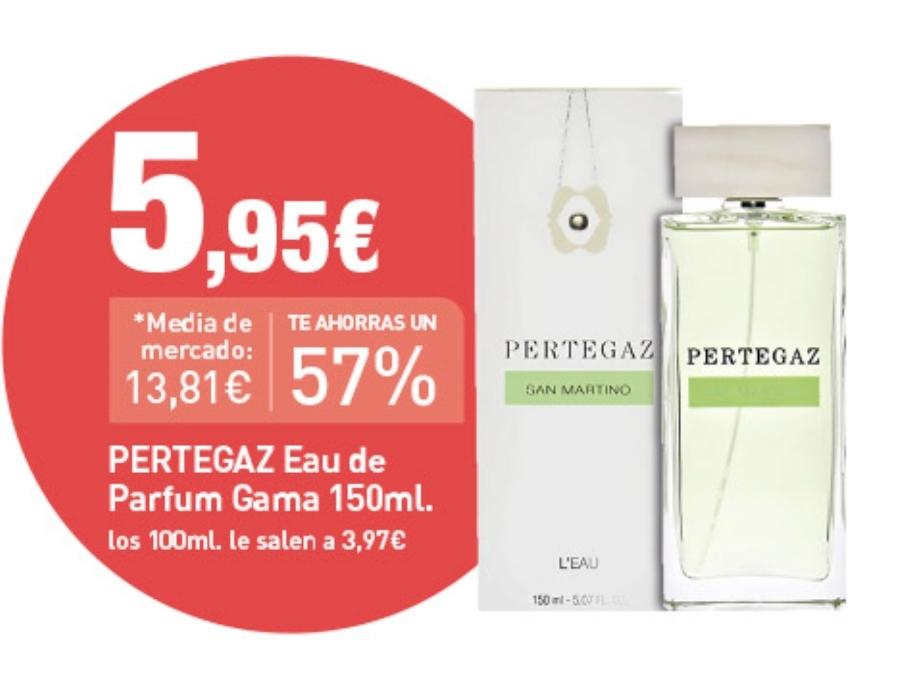 PERTEGAZ eau de parfum gama 150 ml