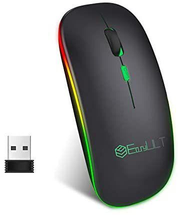 EasyULT Ratón Inalámbrico Bluetooth Recargable