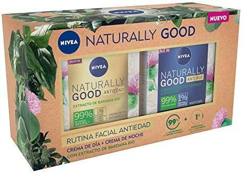 Nivea Pack Naturally Cremas Día y Noche