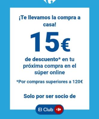 -15€ por compra a superior a 120€!