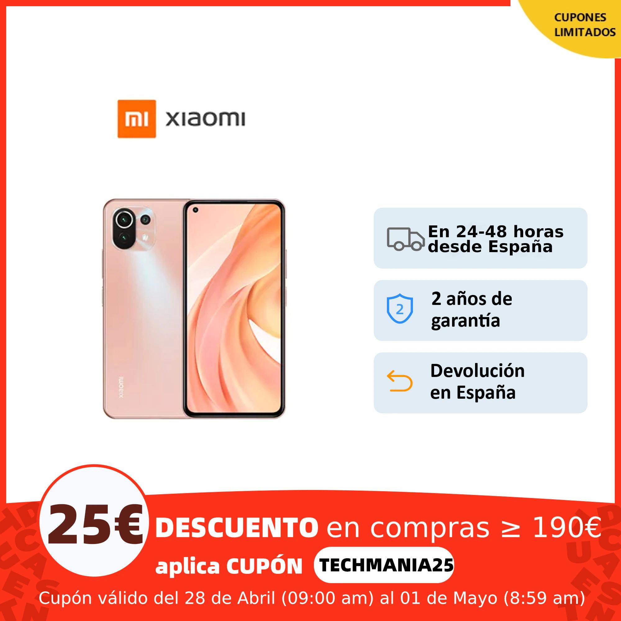 Xiaomi Mi 11 Lite 6+128gb desde España