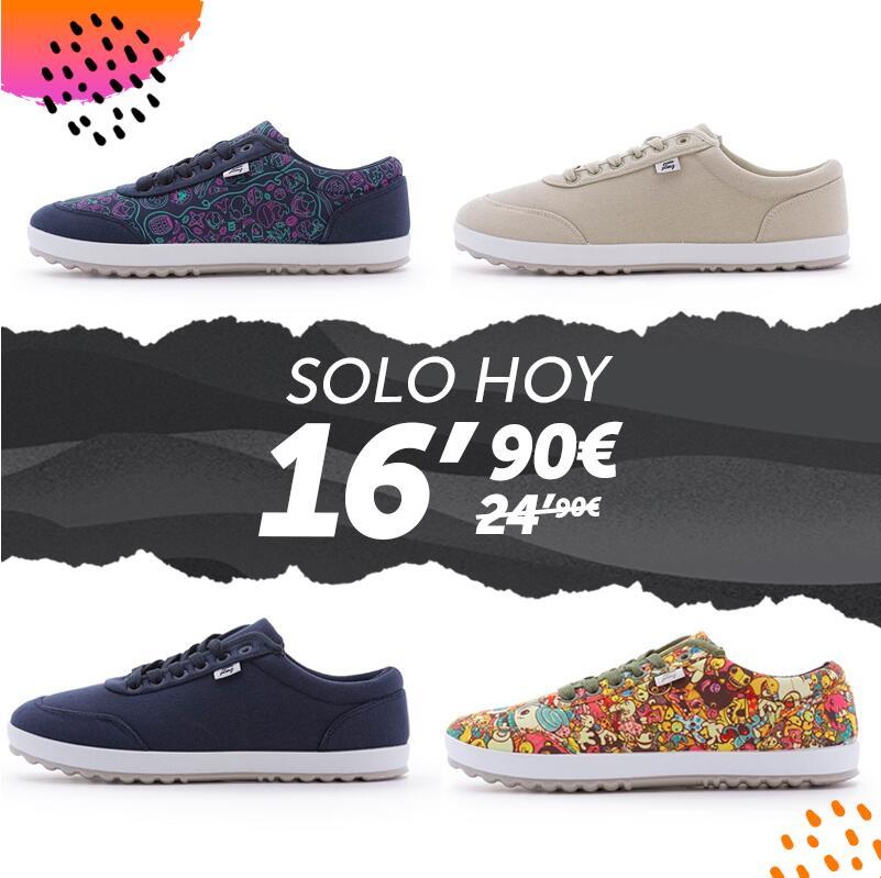 Zapatillas Pampling varios modelos solo 16.9€
