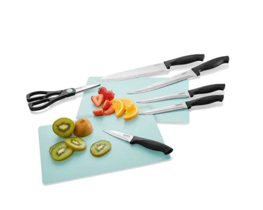 Set de cuchillos con tijeras (8 piezas)
