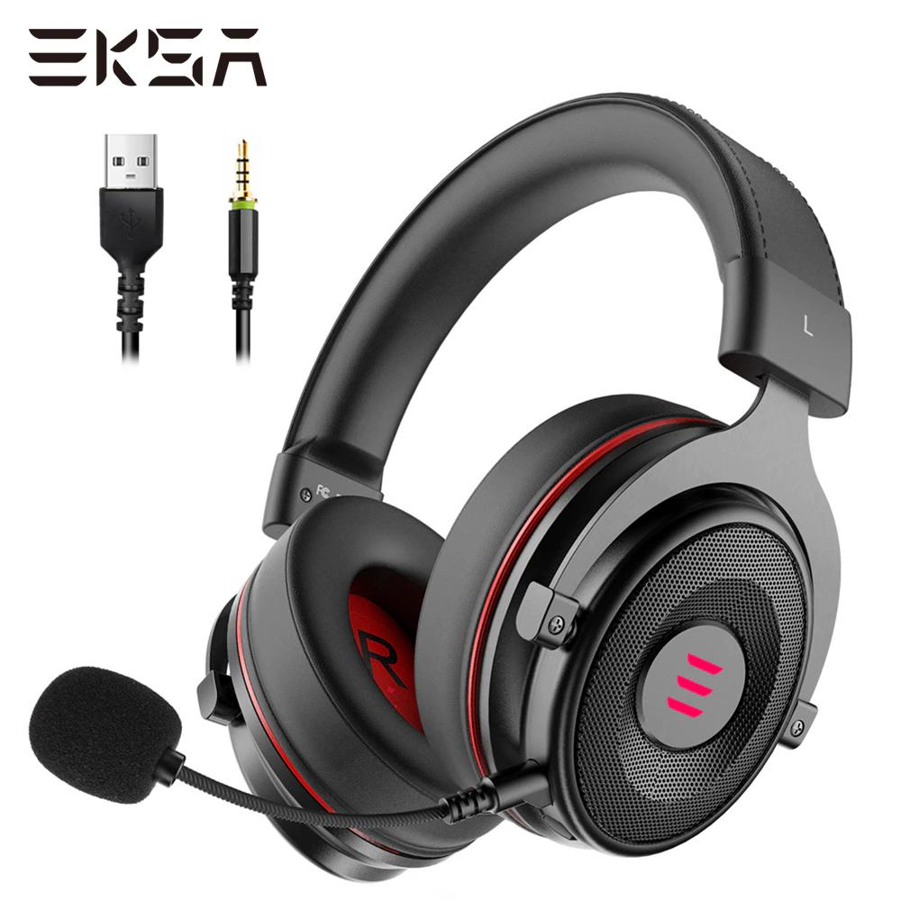 EKSA auriculares con micrófono para videojuegos