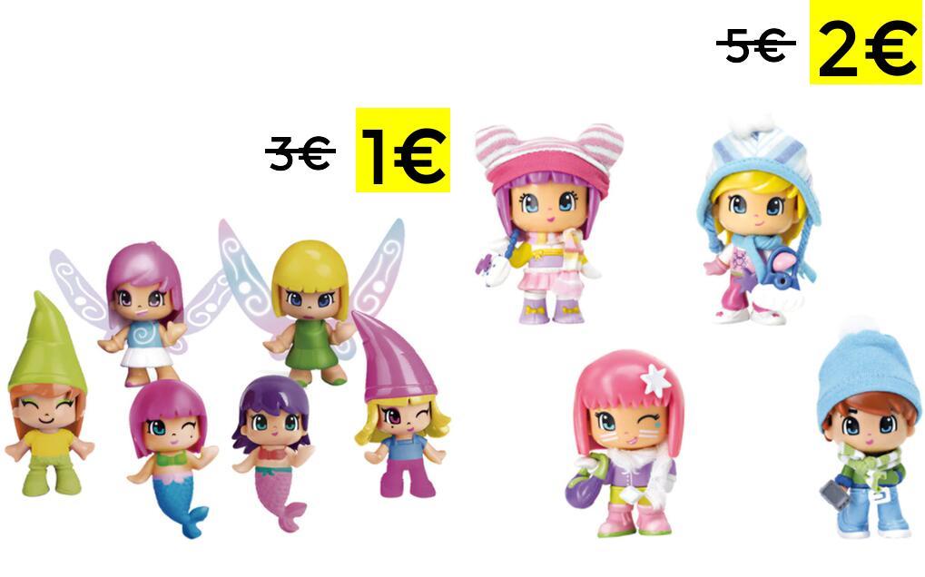 Personajes Pinypon aleatorios por 1€ y 2€