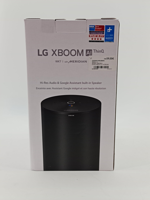 LG Thinq xBoom WK7 con Assistente de Google