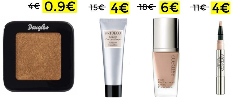 Chollitos en maquillaje en Douglas desde solo 0.9€