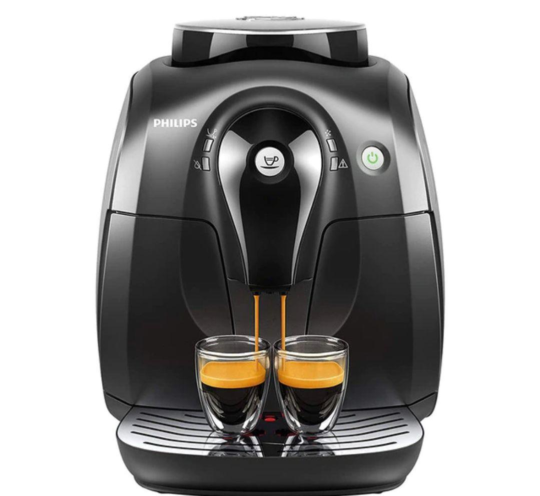 Cafetera espresso superautomática Philips HD8650/01 2000 series