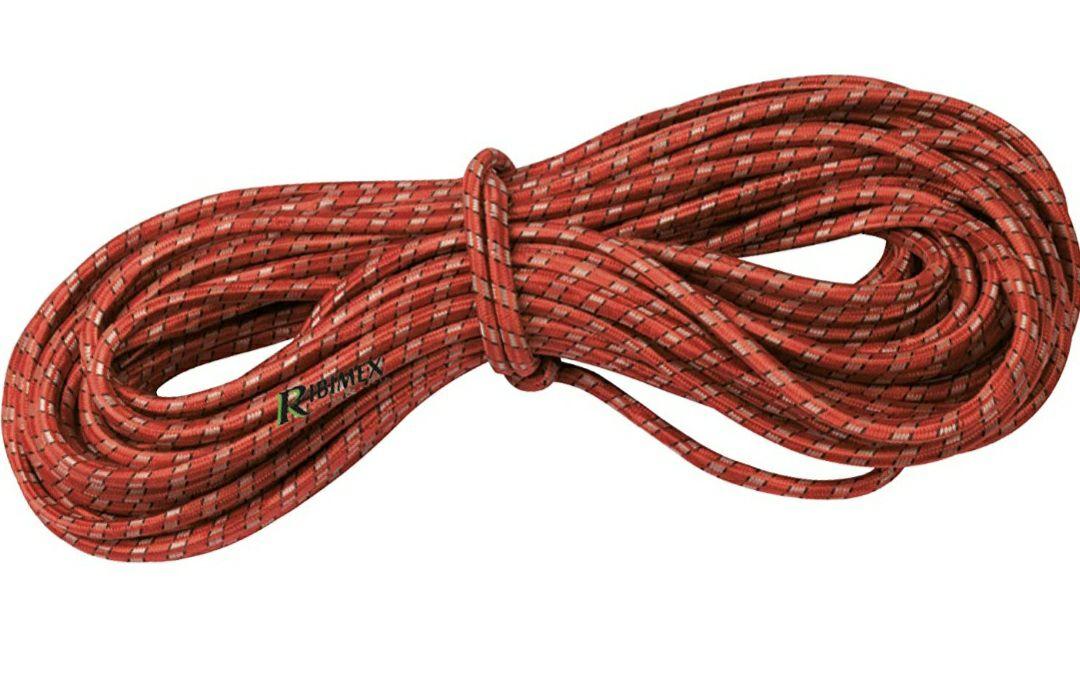 Provence Outillage 572 Rollo de Cable Tensor (elástico, 7 mm de diámetro, 20 m), Colores Surtidos