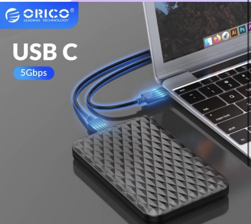 Caja de disco duro USB 3.1 Orico