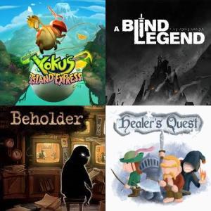 Juegos GRATIS - Yoku's Island Express, Healer's Quest, Beholder, The Blind Prophet y A Blind Legend [PRIME]