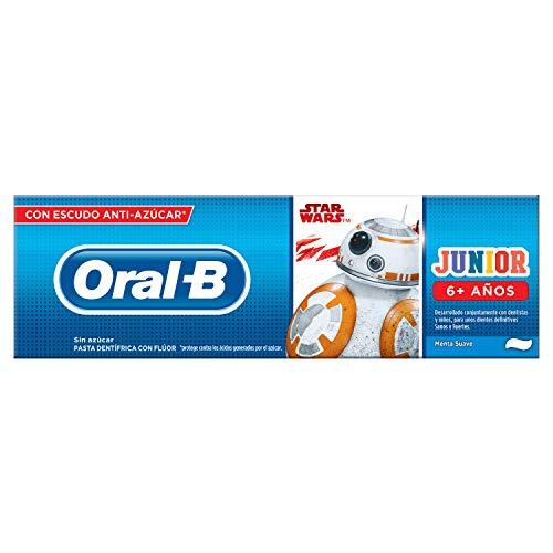 Pasta Dentrífica para niños +6 Oral B Star Wars