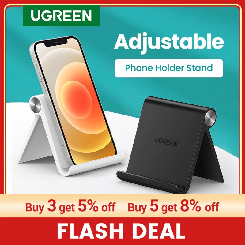Ugreen-Soporte de escritorio para teléfono móvil, para iPhone, Xiaomi, Samsung, Huawei, tableta