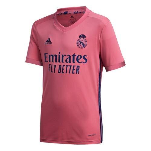 Camiseta Segunda Equipación Real Madrid Temporada 2020/21 - Talla M y L Niños