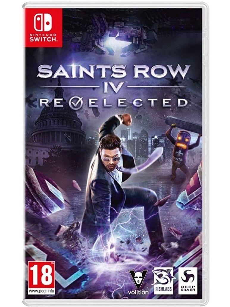 Saints Row IV Re-elected - Switch (Carrefour Salamanca)