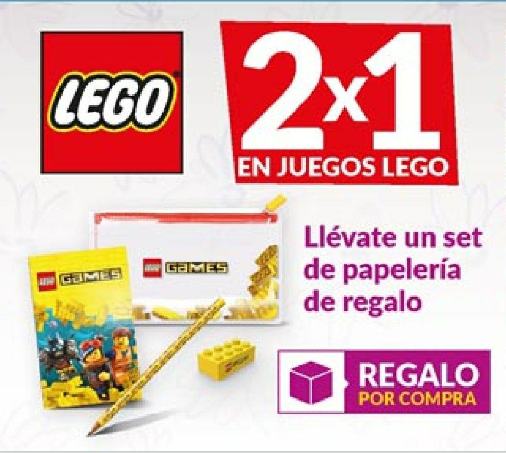 2X1 en Lego + un set de papelería de regalo