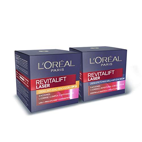 L'Oréal Paris Revitalift Láser Set de Crema de Día con Protección Solar