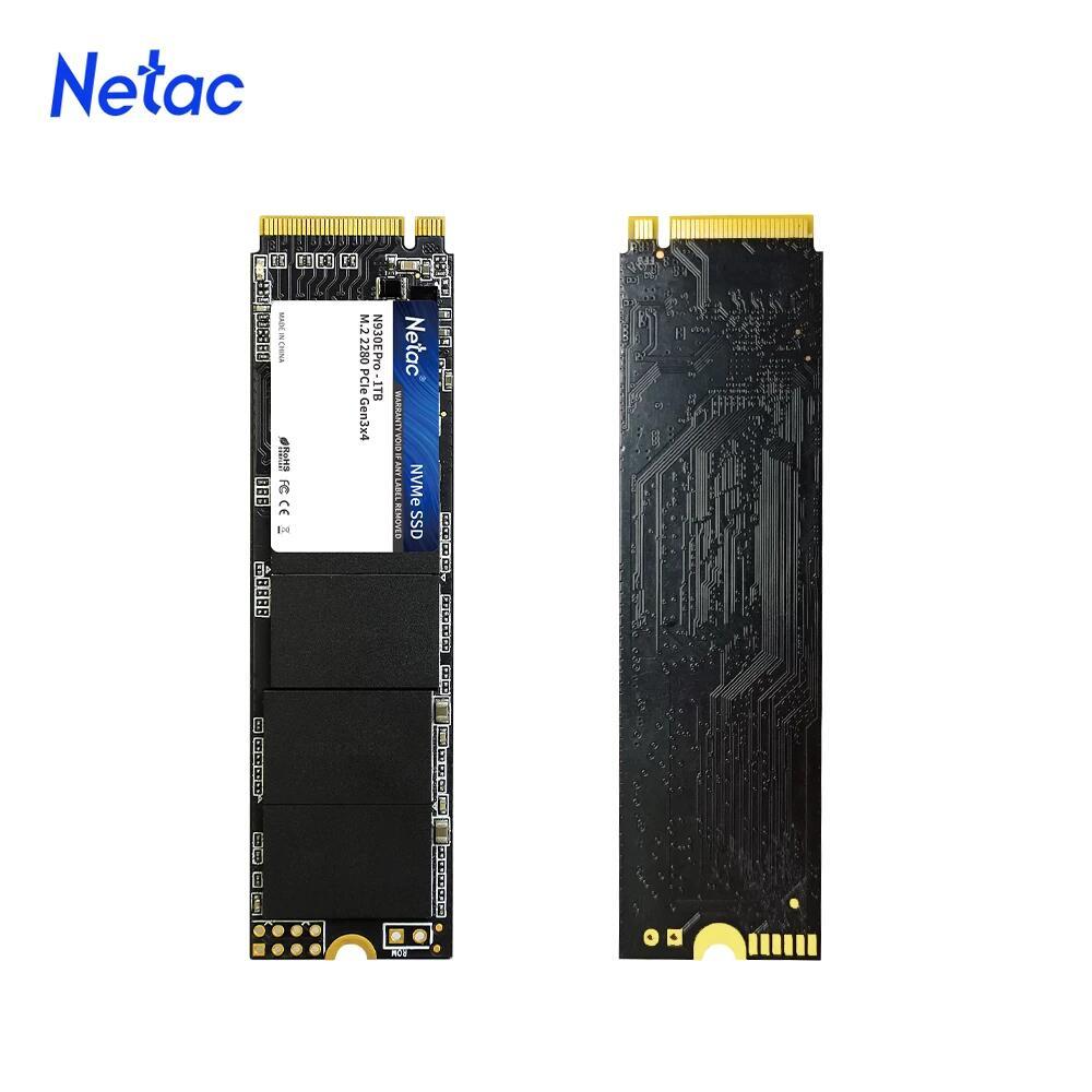 SSD M.2 NVMe Netac ((( 2x 1TB ))) desde España [Tambien China más barato]