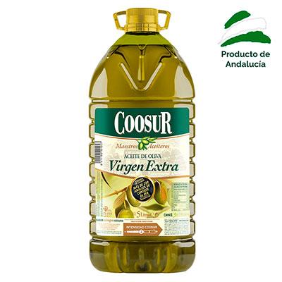 Aceite Oliva Virgen Extra 5L Coosur