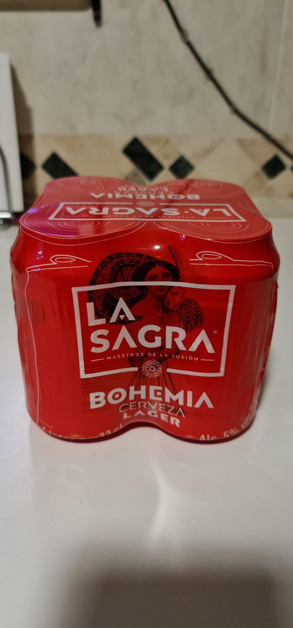 La Sagra Bohemia Pack 4 cervezas (sqrups)