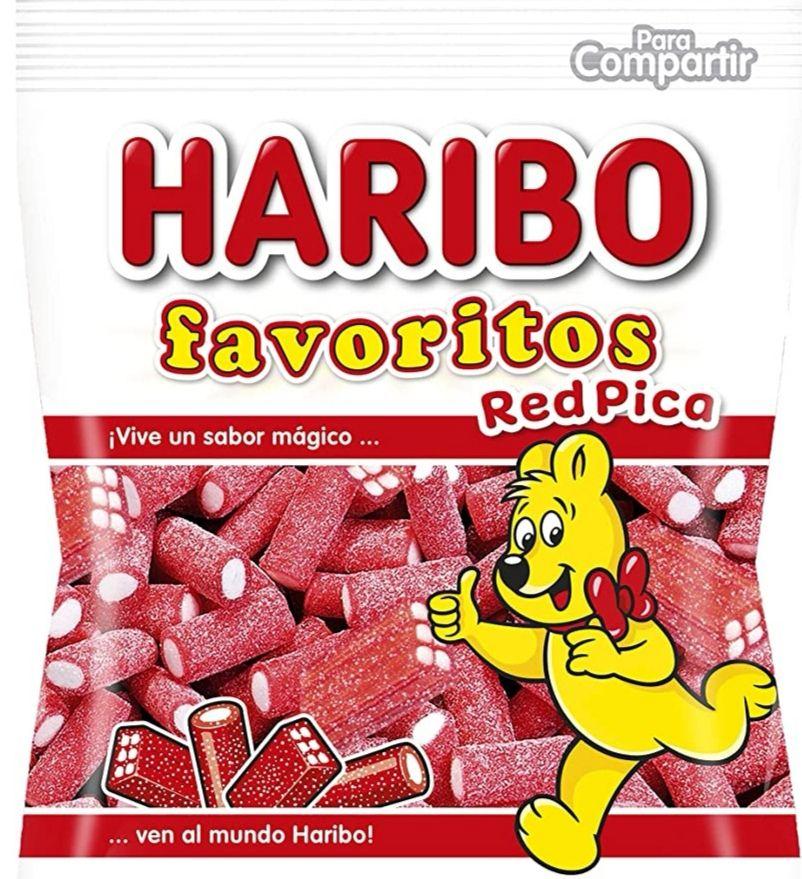HARIBO Favoritos Red Pica 150gr o HARIBO Fruity Penguins 160 gr.