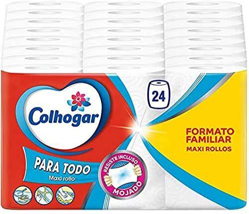 24 rollos Colhogar papel de cocina Mega XXL