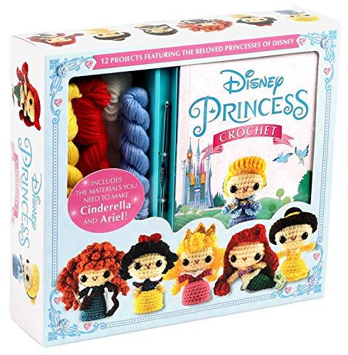 Disney Princess Crochet (Crochet Kits) Tapa blanda