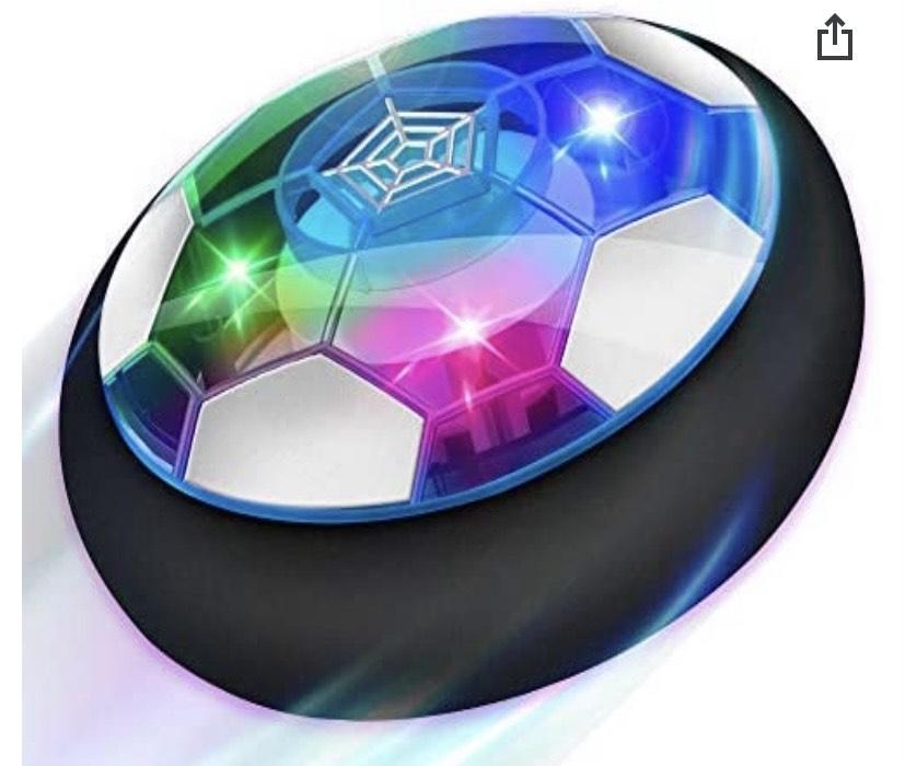 Balón flotante Baztoy Air Power Hover Soccer