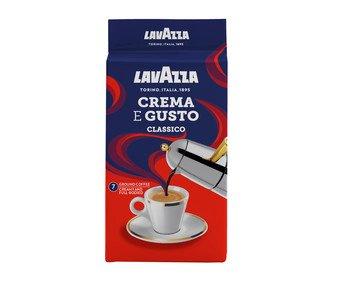 Café molido Italiano CREMA e Gusto de LAVAZZA 250 g.