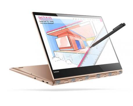 """Lenovo Yoga 920 1.60GHz i5-8250U 13.9"""" 1920 x 1080Pixeles Pantalla táctil Cobre Híbrido (2-en-1)"""