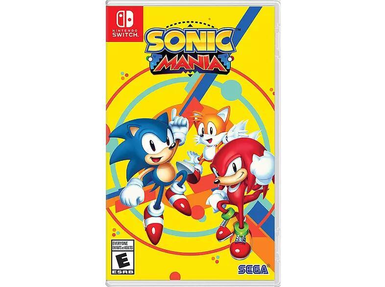 Sonic Mania Nintendo Switch [CODIGO DESCARGA]