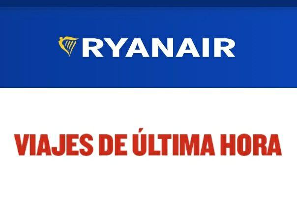 Sigue activo! Vuelos Ryanair de última hora desde 4,99€ para el fin del Estado de Alarma