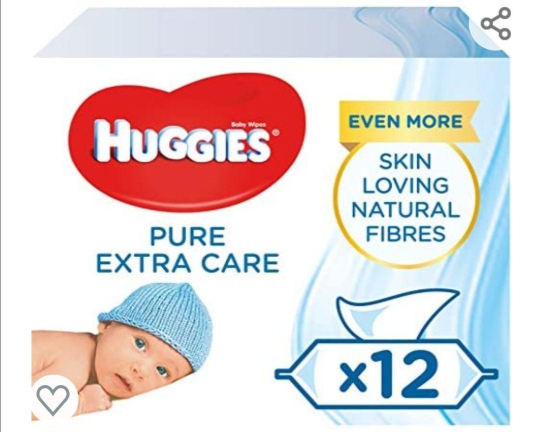 Toallitas huggies extra care