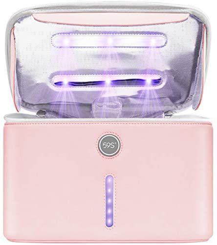 Bolsa desinfectante con luz UV con 12 LED