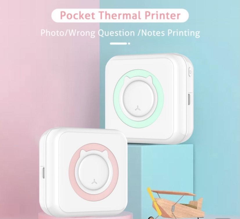 Impresora térmica portátil de bolsillo desde España