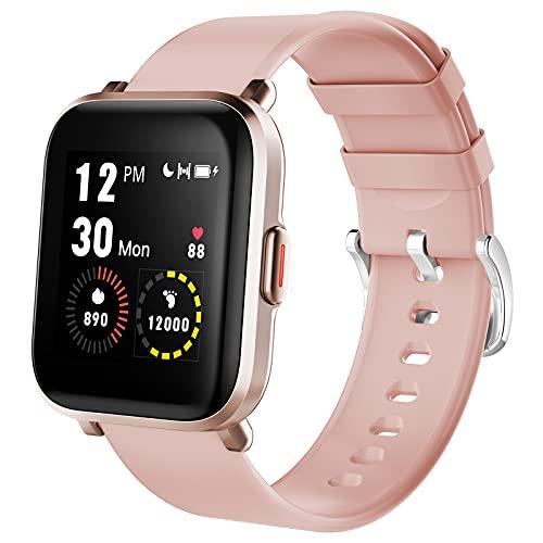 Smartwatch, Reloj Inteligente Impermeable IP68. 3 Colores.