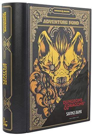 Dungeons & Dragons - Hucha de Metal en Forma de Libro